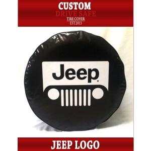 Cover Ban atau Sarung Ban Mobil Jeep Design Logo Jeep
