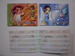 buku telepon & alamat saku fancy 8.5cm x 6cm address book