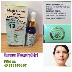Beauty Girl / BeautyGirl / Serum BG magic instant white - BPOM