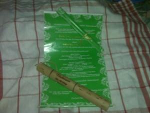 Undangan ap bambu penuh