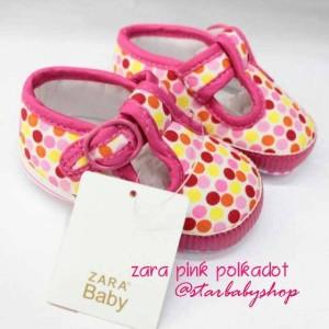 Prewalker Zara Pink Polka