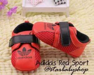 Prewalker Adidas Red Sport