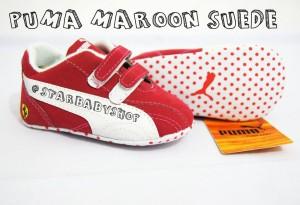 PW Puma Maroon Suede