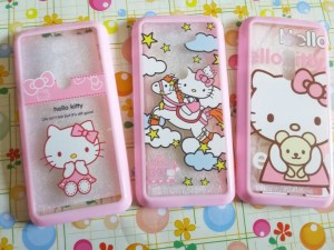 Softcase / Case Fuze Hello kitty For Asus Zenfone 2 (5 inchi )