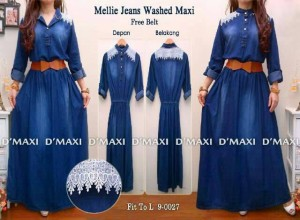 mellie jeans washed + belt