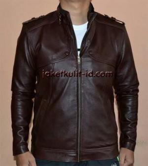 jaket kulit motor/jaket kulit murah/jaket kulit laki-laki terbaru