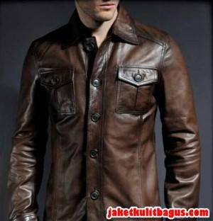 jaket jas kulit/jaket kulit safari/safari laki-laki/jaket kulit cowo
