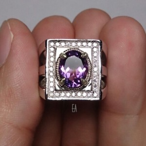 Natural Amethyst 2.40 cts + Ring (Code AMET10)