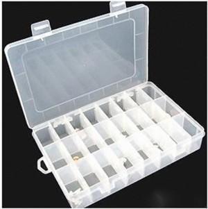Kotak Penyimpanan Plastik Serbaguna Untuk Obat Akskesoris Manik (8*3)