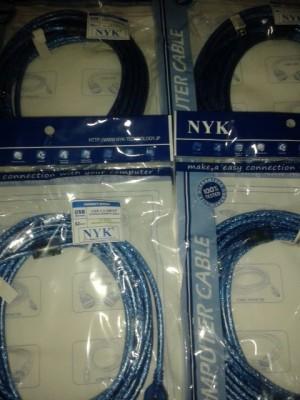 Kabel Perpanjangan NYK Male USB to Female USB 5M Murah Kwalitas Handal