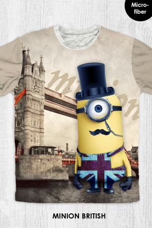 Kaos Minion - Minion British