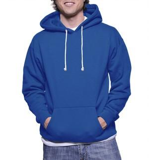 Jaket Hoodie Jumper Biru Benhur Polos / Jeket Polos / Sweater Polos