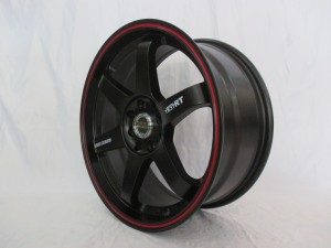 VELG TE37RT HSR RING17X75-9 HOLE/PCD 8X100-114,3 ET42-35