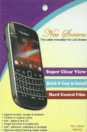 Neo Mobile Anti Gores Japan - Clear Type For Blackberry Torch 9810