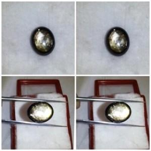 natural golden star sapphire (c124)
