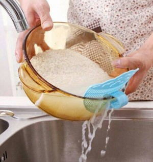Klip Prnyaring Air untuk Mangkuk cuci beras atau buah