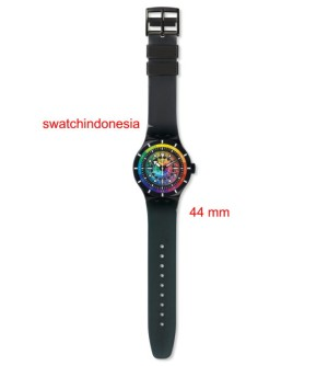 Jam Tangan SWATCH ORIGINAL 100% SUUB401 CHROMATIC WATER murah trendy