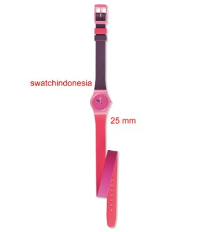 Jam Tangan SWATCH ORIGINAL 100% LP137 FUN IN PINK murah pink trendy