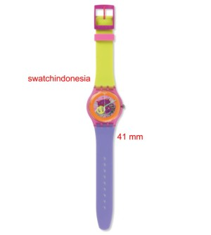 Jam Tangan SWATCH ORIGINAL 100% SUOP103 DIP IN COLOR murah trendy