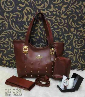 3 in 1 BG098 Brown free pouch