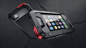 Hard Case iPhone 4-4S LUNATIK Casing Cover Alumini