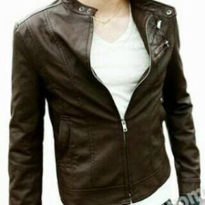 jaket kulit motor/jaket kulit murah/jaket laki-laki terbaru/jaket laki