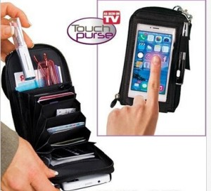 TOUCH PURSE DOMPET HP MULTIFUNGSI AS SEEN ON TV
