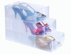 transparant shoes box transparent shoes box