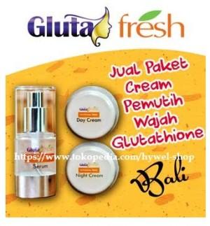 GLUTA FRESH ORIGINAL 3 IN 1 WHITENING (serum,day cream,night cream)