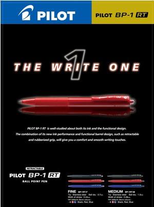 Pilot Pen New BP 1 RT / Ballpoint Pilot