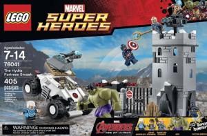 Lego 76041 The Hydra Fortress Smash