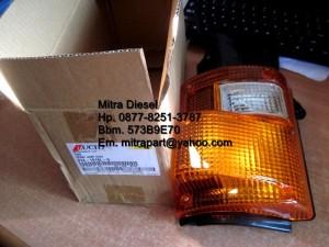 3171 214-1618L-O FRONT LAMP ASSY / LAMPU SENT FUSO 6D16 DUMP MITSUBISH