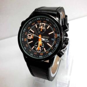 jam tangan Seiko solar Kulit