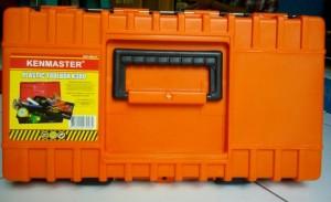 Toolbox kenmaster k-380 Tool box tampat kunci-kunci motor&mobil