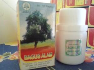 Kapsul Extract Cacing BAGUS ALAM | Obat Tipus | Typhus