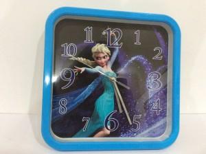 Jam Dinding Kotak Frozen