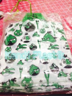 Kantong Plastik HD motif angry bird 30x32 (Medium)