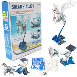 Flying Fairy Solar Stallion Horse Pegasus robot kereta kuda terbang
