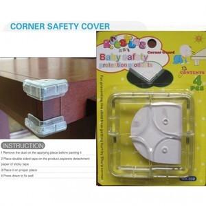008 Baby Protection Cap Corner Safety Pad Table Pengaman sudut meja