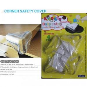 009 Baby Protection Cap Corner Safety Pad Table Pengaman sudut meja