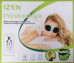 Kacamata pria wanita Eye Massager I-Zen Izen Terapi alat pijat mata