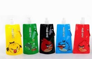 Botol minum Vapuur Vapur Angry Birds Set 1set=5pcs angrybird bird