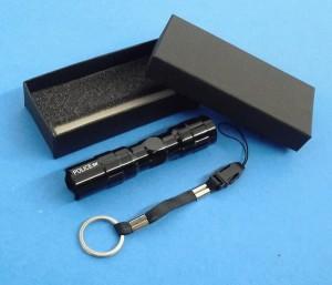 Lampu Senter POLICE 3W Mini LED Flashlight tdktrmsk baterai battery AA