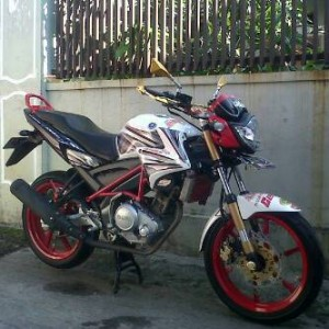 Cover Shock  old Vixion