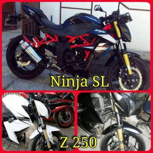 Cover Shock Ninja Z 250 & SL