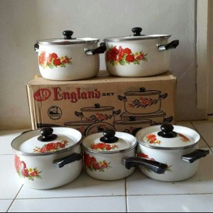 10PCS COOKWARE SET ENGLAND (PANCI SET)