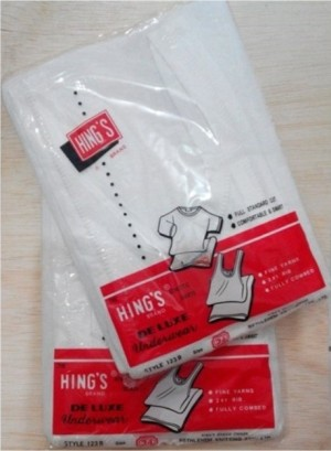 Singlet Hing's (Size 38, 40, 42)