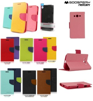 Jual Flip Book Cover Case Dompet Samsung Galaxy Grand - Duos - Neo