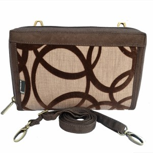 Dompet Makara Plain HPO FLOCKING BROWN