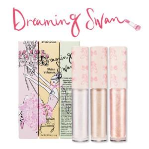 ETUDE HOUSE Dreaming Swan Shine Volumer Highlighter Shimmer Eye Shadow